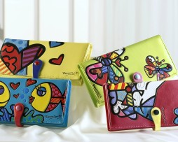 Colored Small & Large Wallets