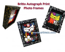 Britto Autograph Print Photo Frames