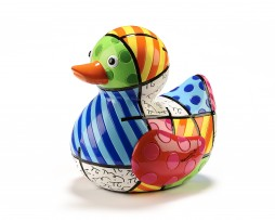 Romero Britto Limited Edition Duck Figurine - Joy
