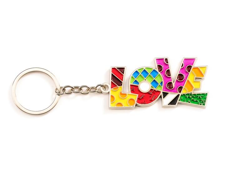 Romero Britto Key chain ** MIAMI **