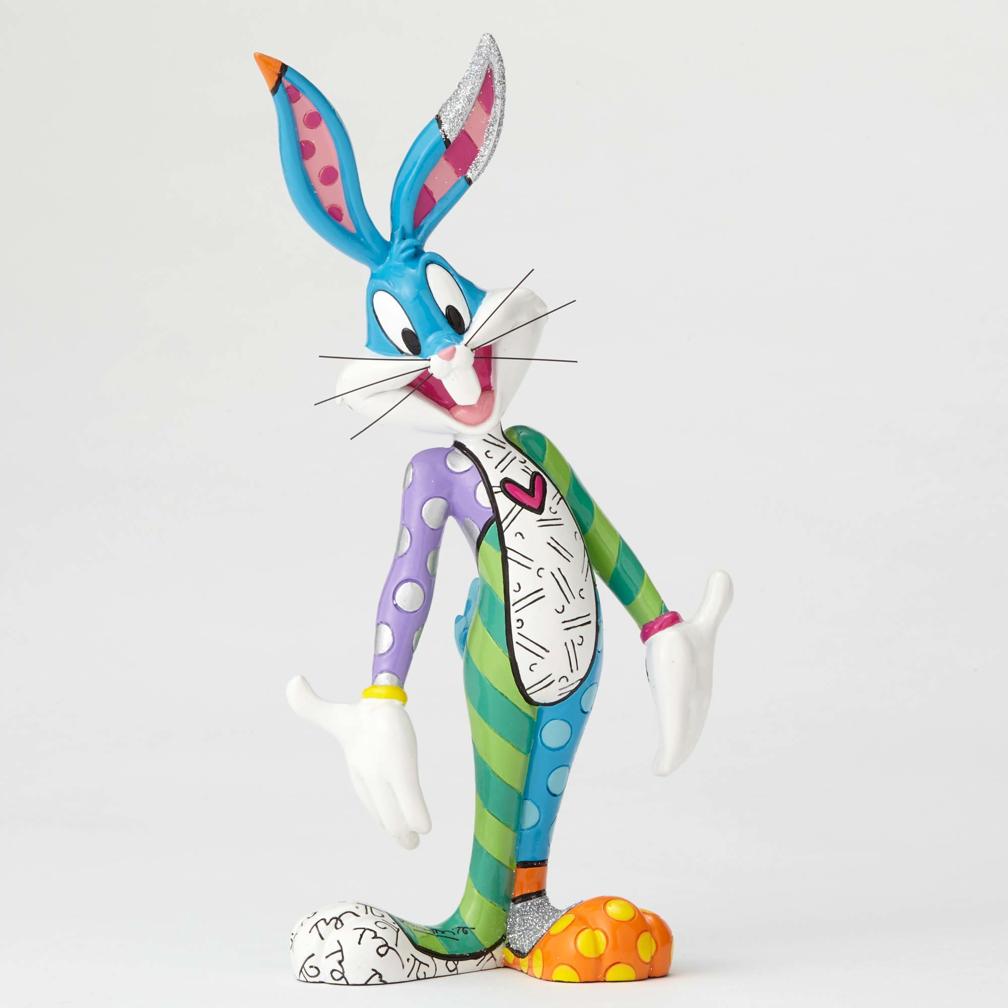 bugs bunny figurine by romero britto artreco. Black Bedroom Furniture Sets. Home Design Ideas