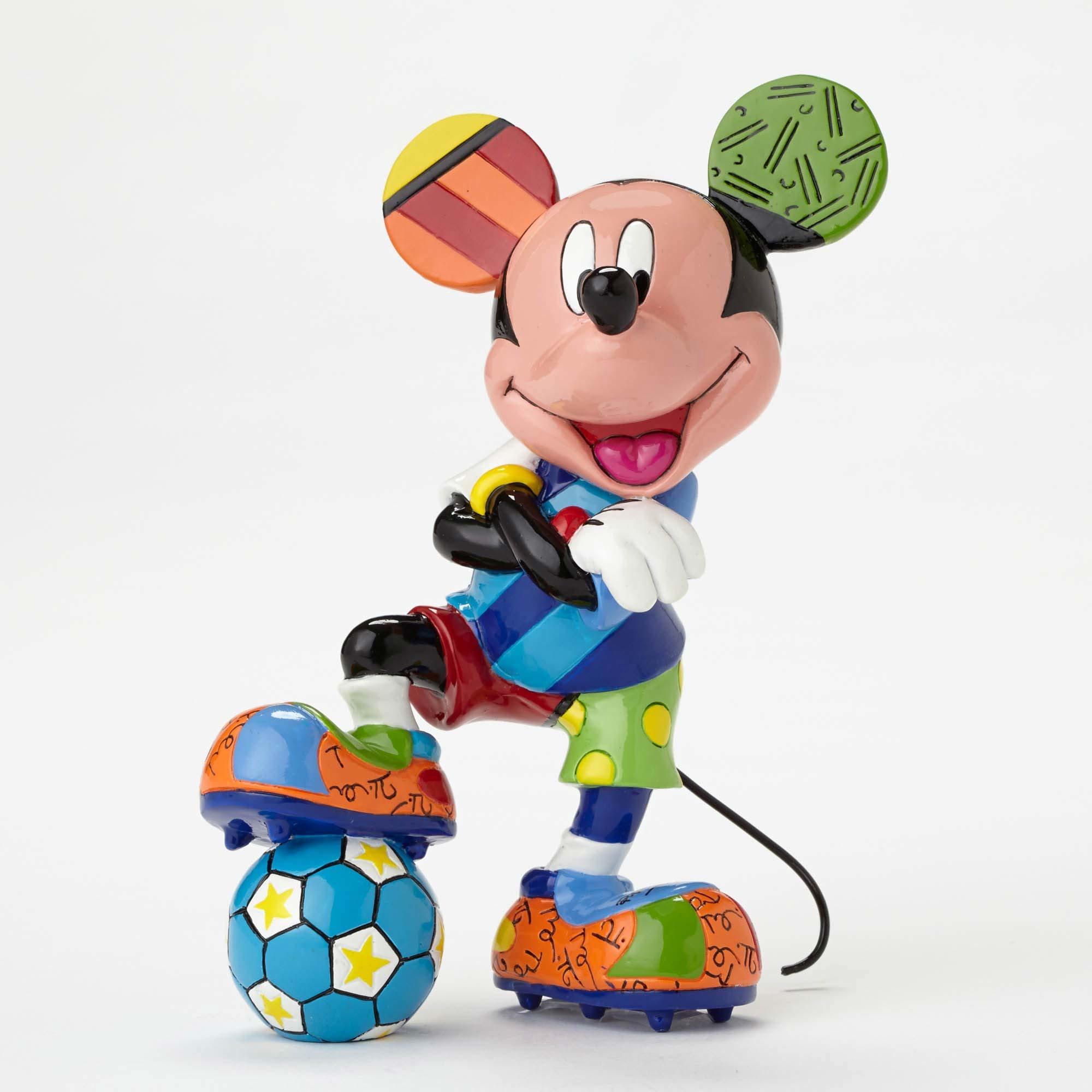 Britto mickey soccer figurine artreco - Figurine maison de mickey ...