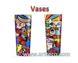 Britto Vases