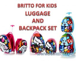 Britto for Kids - Luggage & Backpack Set
