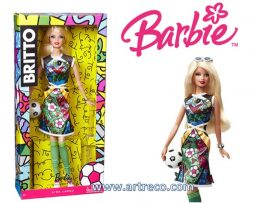 Barbie Doll by Romero Britto