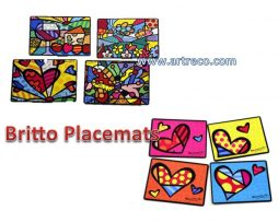 Vintage Britto Placemats