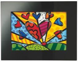 Romero Britto Goebel Limited Edition Porcelain Picture - A New Day