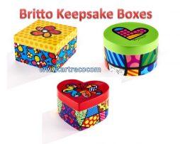 Britto Keepsake Boxes
