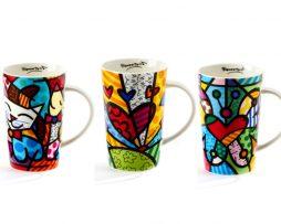 Bone China Mugs - 13 oz