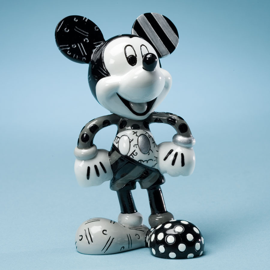 Britto Disney Complete Set Of 6 Mini Mickey Figurines