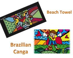 Britto Beach Towel & Brazilian Canga