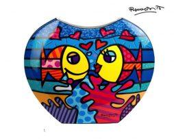 Romero Britto Deeply in Love Porcelain Vase by Goebel
