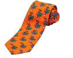 Romero Britto Necktie Palms