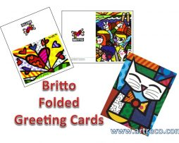 Britto Folded Greeting Cards