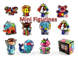 Britto Mini Figurines