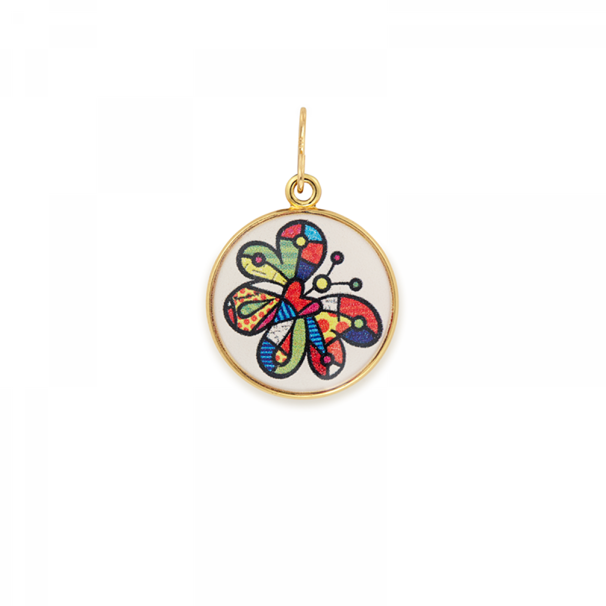Alex And Ani Britto Art Infusion Chain Station Charm
