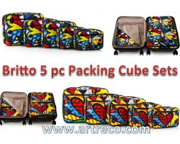 Britto 5 pieces Packing Cube Sets
