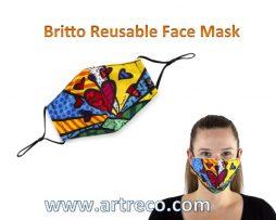 Britto Reusable Face Mask